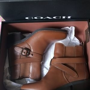COACH BOOTS CHELSEA BROWN